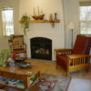 Old style fireplace from our Eagle Point, Oregon house