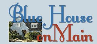 Blue House on Main