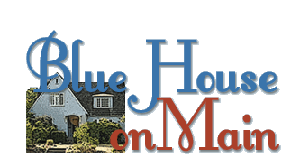 Blue House on Main